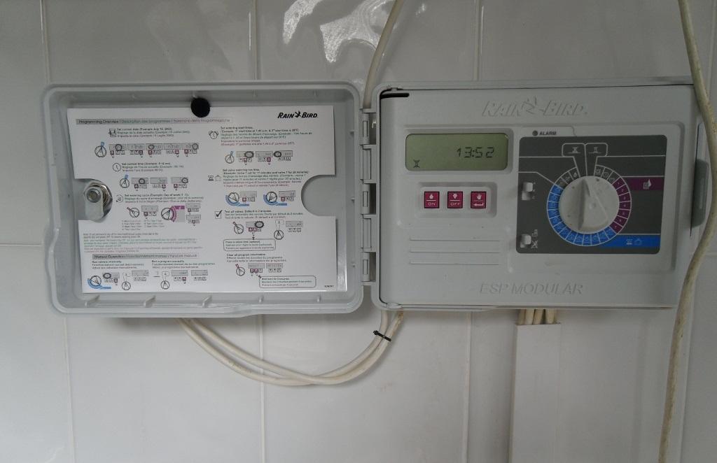 Программируемое оборудование для полива газона