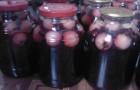 Компот из черноплодной рябины