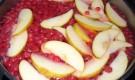 Компот из красной смородины с яблоками