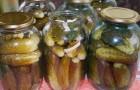 Огурцы соленые с чесноком