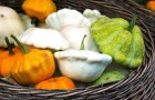 Патиссоны с овощами
