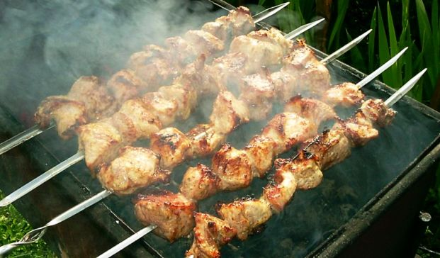 Шашлык из баранины по-кавказски