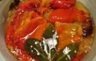 Сладкий перец (стручковый) консервированный