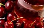 Сок вишневый натуральный без сахара