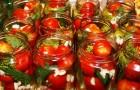 Томаты, консервированные с лимонной кислотой