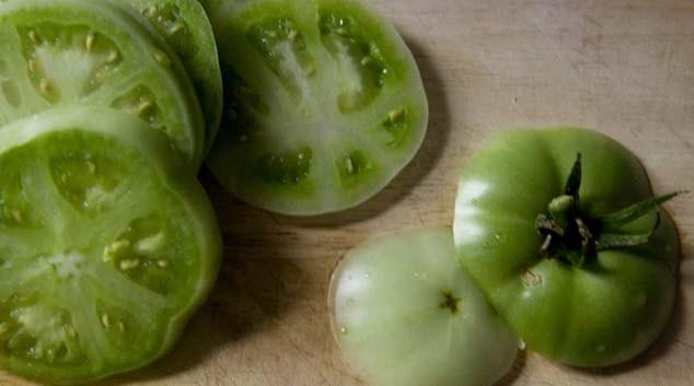 Томаты зеленые маринованные