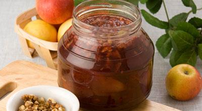 Варенье из клюквы на меду