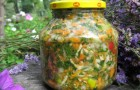 Заправочная овощная смесь с укропом