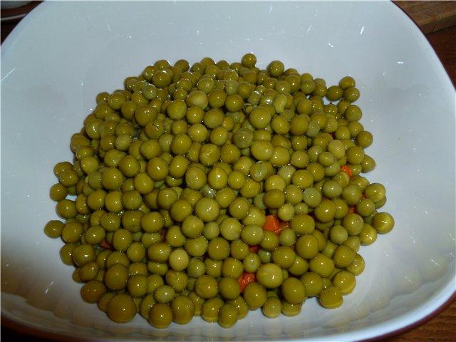 Зеленый горошек маринованный