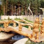 Деревянные скульптуры2