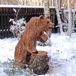 Деревянные скульптуры3