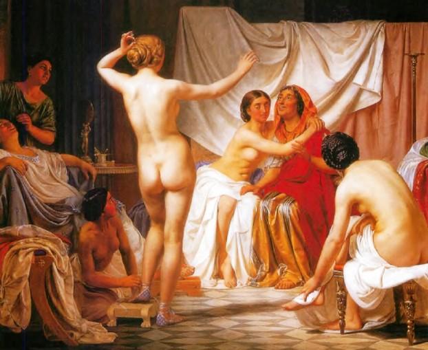 Европейская баня эпохи возрождения