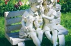 Материалы для садовых скульптур