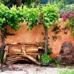 Мебель из бревен и пней