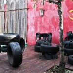 Мебель из колес3