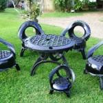 Мебель из колес