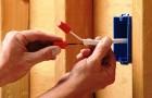 Монтаж электрической сети теплицы