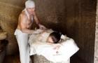 Мытье в бане
