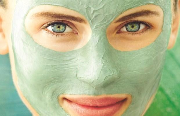 Противовоспалительная зеленая маска