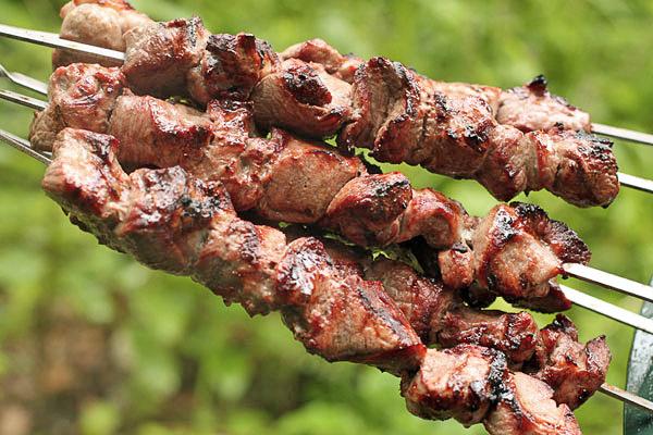Шашлык из баранины по-аравийски