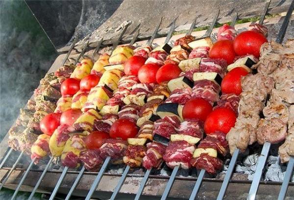 Шашлык из баранины по-туркменски
