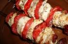 Шашлык из свинины с сухофруктами