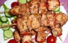 Шашлык из свинины с томатным соком