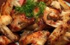 Шашлык из цыпленка по-узбекски