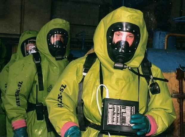Средства защиты при химической