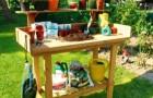 Стол для пересаживания растений
