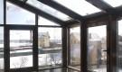 Установка дополнительной теплоизоляции на окна теплицы