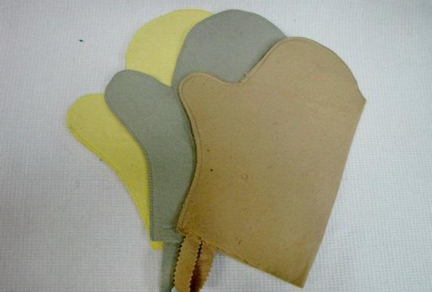 Варежки и рукавицы для бани