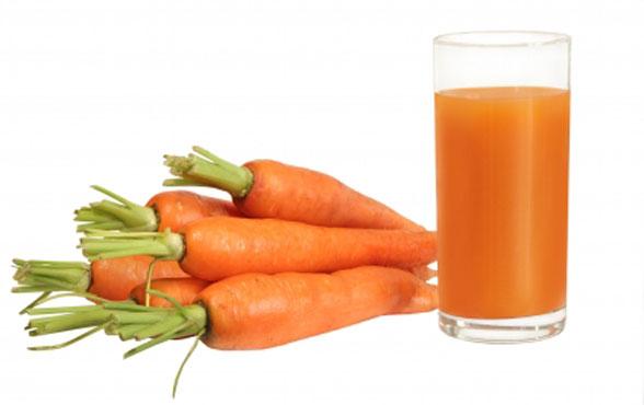Восстанавливающая морковная маска