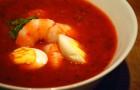 Ароматный томатный суп-пюре