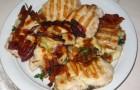 Барбекю из курицы с овощами