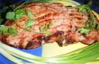 Барбекю из свинины с хреном