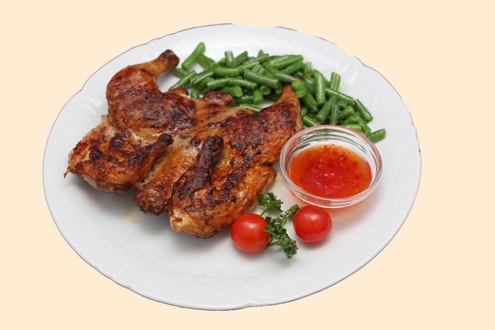 Барбекю из цыпленка по-андалузски