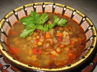 Болгарский овощной суп
