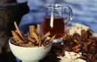 Чай с корицей, гвоздикой и имбирем