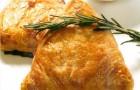 Домашний пирог с рагу из мяса ягненка