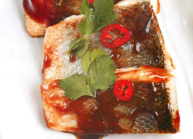 Филе сибаса по-тайски