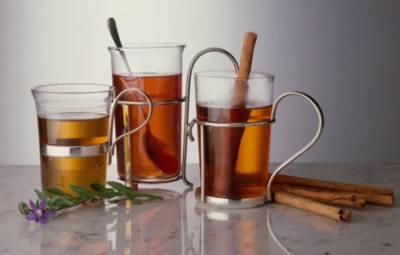 Фруктовый чай с корице и соком по-восточному