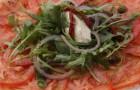 Карпаччо из помидоров «бычье сердце»