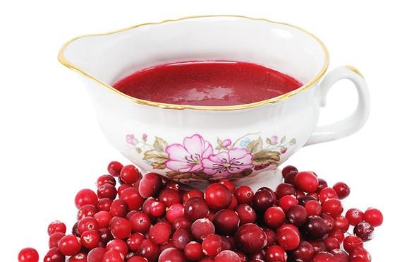 Клюквенно-винный соус