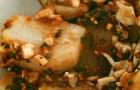 Кольраби с сухарным соусом
