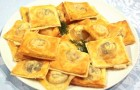 Конвертики из телятины по-китайски с джемом из перца чили