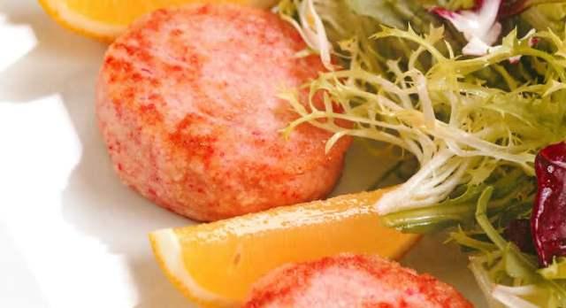 Котлетки из морепродуктов