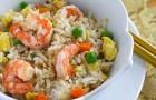 Креветки, с рисом