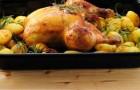 Курица с картофелем