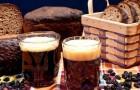 Квас из черного хлеба